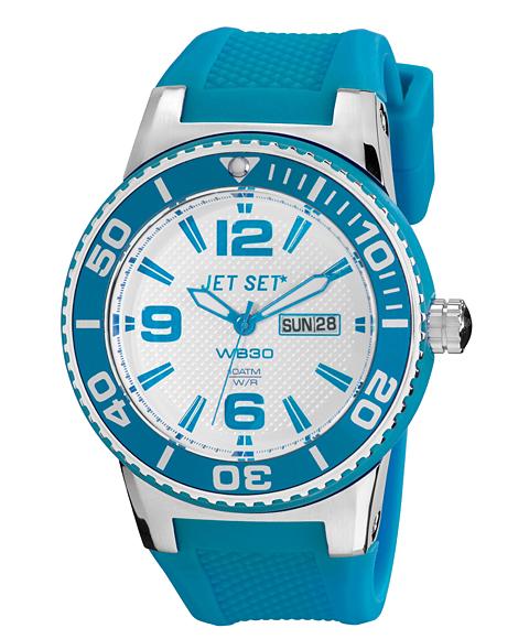 至上 Outlet Sale ワケあり アウトレット 輸入 67%OFF ジェットセット ブルー系 WB30 腕時計 メンズJET SET J55454-163