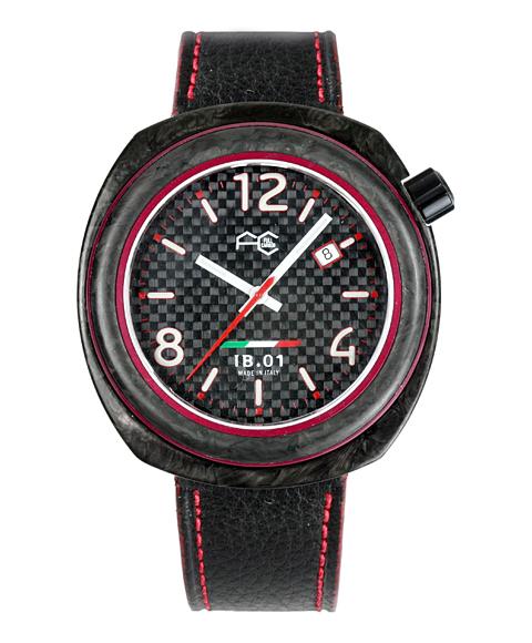 アウトレット67%OFF! フルカーボン 腕時計 IB0113-RH IB.01 自動巻 メンズ レザーストラップ FULL CARBON