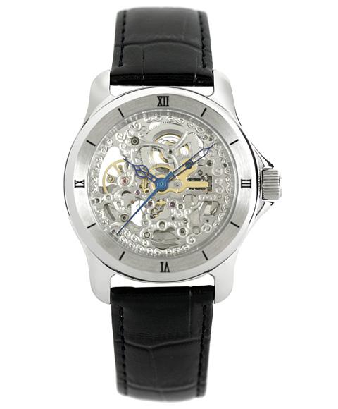 アルカフトゥーラ メンズ セール特別価格 腕時計 自動巻きARCAFUTURA 297SKBK 日時指定 スケルトン