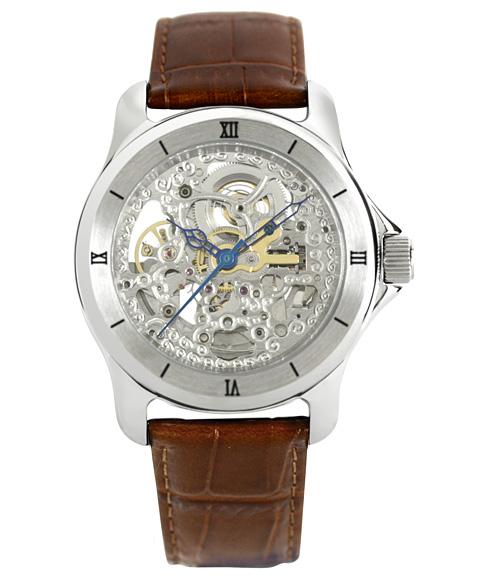 アルカフトゥーラ ARCAFUTURA 腕時計 メンズ スケルトン 自動巻きARCAFUTURA SEAL限定商品 捧呈 ブラウン系 297SKBR