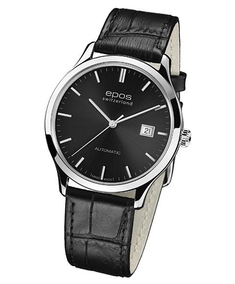 epos エポス Originale 腕時計 3420GY 自動巻 レザーストラップ