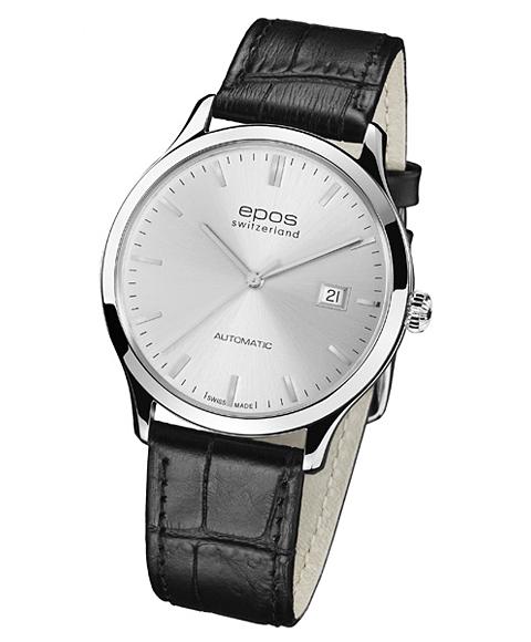 エポス epos 腕時計 オリジナーレ 3420SL Originale クロノグラフ メンズ 超激得SALE 自動巻 いつでも送料無料 レザーストラップ