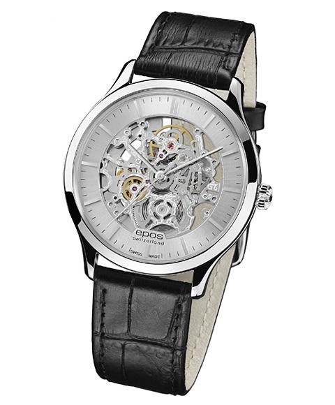 epos エポス Originale 腕時計 3420SKSL 自動巻 スケルトン レザーストラップ
