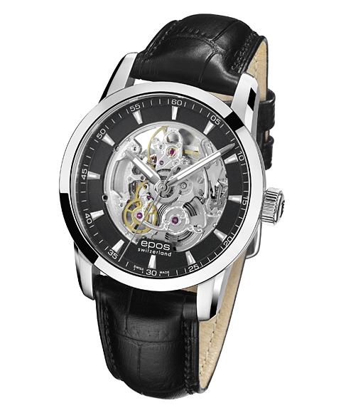 epos エポス ソフィスティック 腕時計 3423SKBK 自動巻 スケルトン