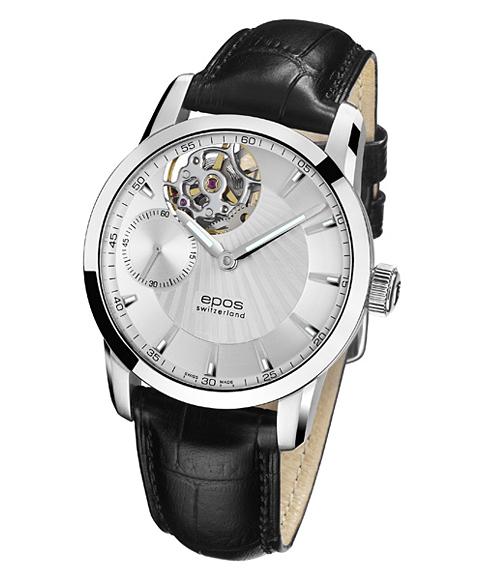 エポス ソフィスティック 3424OHSL 手巻 腕時計 エポス epos スケルトン