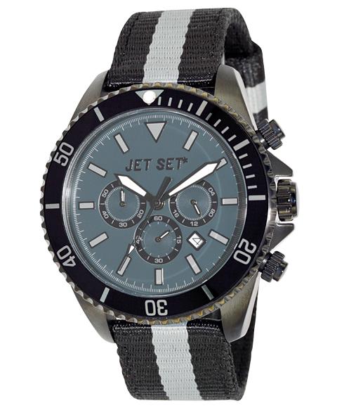 ワケあり アウトレット 67%OFF! JET SET ジェットセット 腕時計 J2120B-12SPEEDWAY クロノグラフ