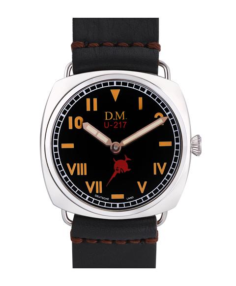 ワケあり アウトレット67%OFF! ドイチェマスター クライグスマリーン U217 腕時計 メンズ 手巻き Deutsche Master KREIGSMARINE