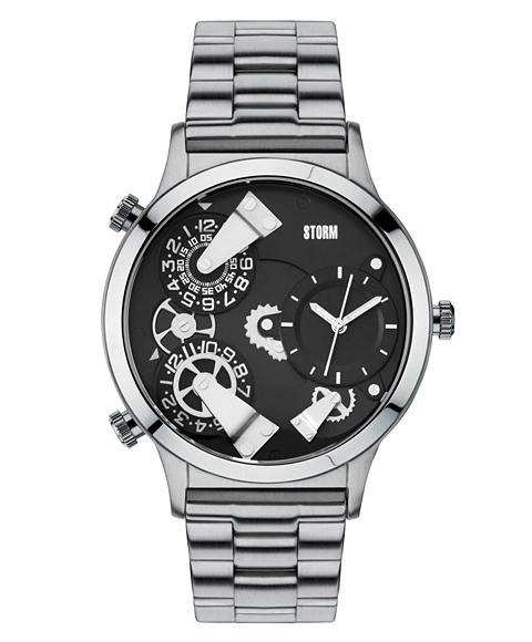 ストーム ロンドン TRION 47202BK 腕時計 メンズ STORM LONDON メタルブレス