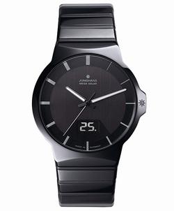 ユンハンス フォース 018 1133 44 腕時計 メンズ JUNGHANS Force 018/1133.44 電波時計 ソーラー時計