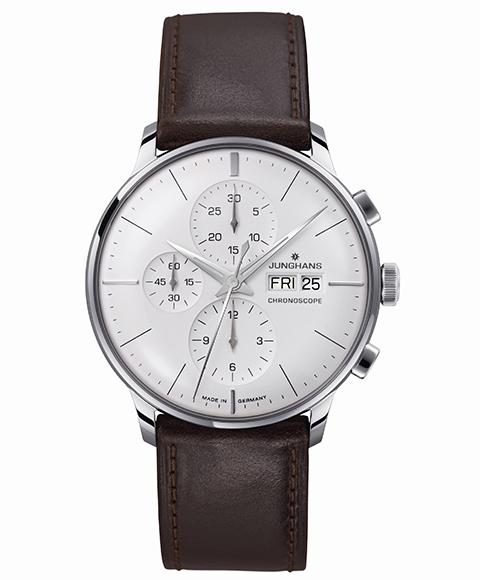 特価品 ユンハンス マイスター クロノスコープ 027 4120 01 腕時計 メンズ JUNGHANS Meister Chronoscope 027/4120.01 自動巻