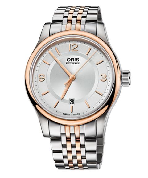 オリス クラシック デイト 73375944331M 腕時計 メンズ 自動巻き ORIS Classic 733 7594 4331M メタルブレス
