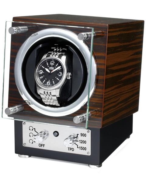 爆売り! 予約受付中(納期:お問い合わせ)ユーロパッション ウォッチワインディング ボックス アダプター付 FWD-1121EB 【ラッピング】 ※時計は含まれておりません EURO PASSION, カジュアルファッション NOD 3582c054