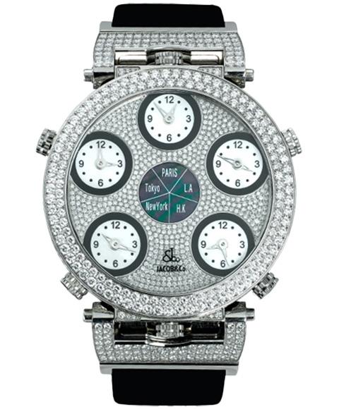 ジェイコブ JACOB&CO SIX TIME ZONE POCKET WATCH JC-G3R 腕時計 シックスタイムゾーンポケットウォッチ