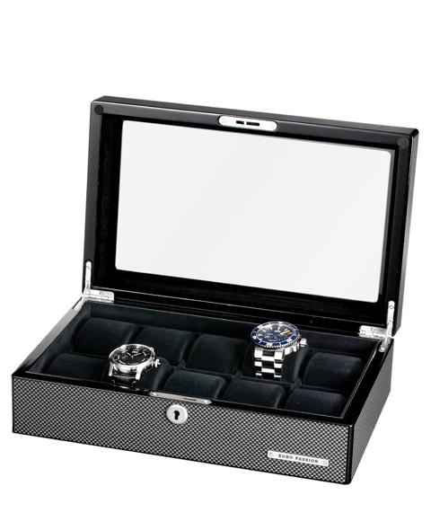 ユーロパッション ウォッチコレクションボックス FW-1028CF コレクションボックス ※時計は含まれておりません EURO PASSION 【ラッピング不可】