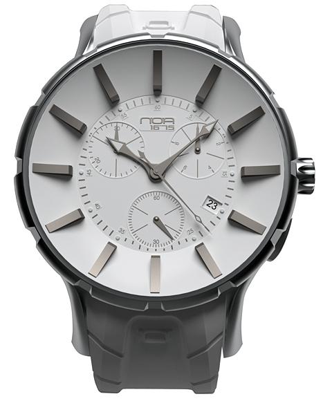 ワケあり アウトレット 67%OFF! ノア 16.75 GL002 腕時計 メンズ NOA ※入荷時期によってストラップはラバーまたはレザーとなります。 ホワイト系