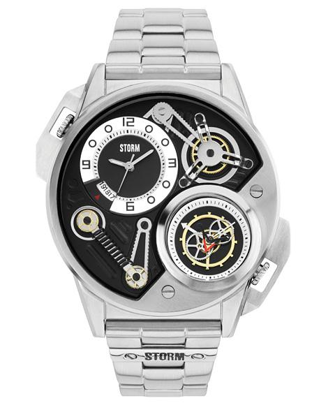 ストーム ロンドン DUALTRON 47229BK 腕時計 メンズ STORM LONDON メタルブレス
