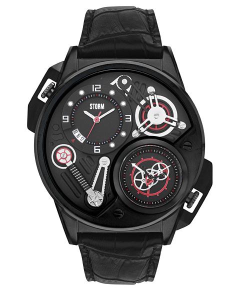 ストーム ロンドン DUALTRON LEATHER 47239SL 腕時計 メンズ STORM LONDON