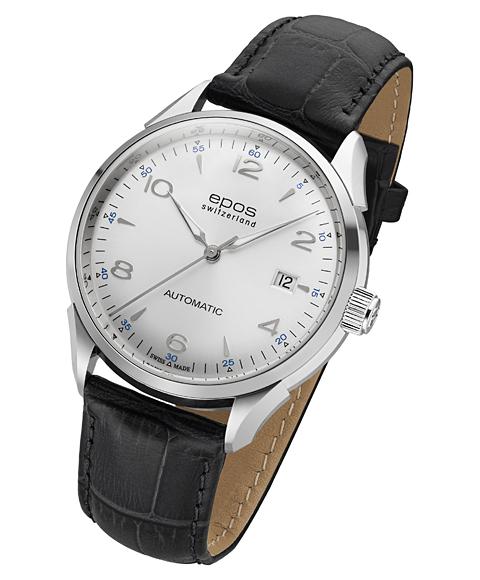 エポス epos オリジナーレ デイト 腕時計 3427ASL 自動巻 レザーストラップ