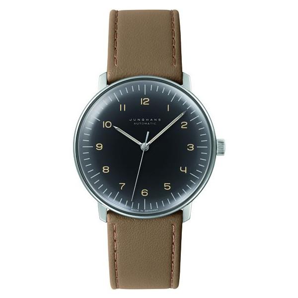 特価品 ユンハンス マックスビル 027 3401 00 腕時計 メンズ JUNGHANS Max Bill Automatic 027/3401.00 自動巻 レザーストラップ ブラウン系