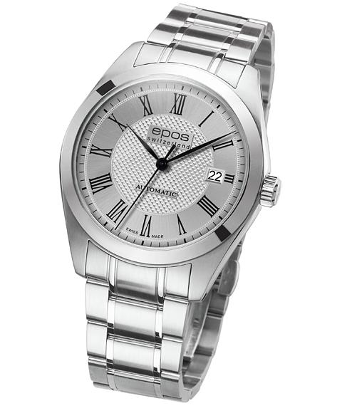 エポス epos 限定品 腕時計 オリジナーレ クラシック 早割クーポン 3411RSLM メタルブレス Originale Classic 自動巻