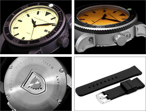 海外取寄せ シャウボーグ ノウティックフィッシュ AQM4-ORM 自動巻き 腕時計 メンズ SCHAUMBURG NAUTICFISH 自動巻