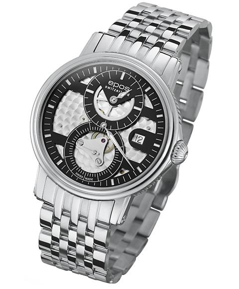 エポス エモーション レギュレーター リミテッドエディション 3392BKM LTD120 腕時計 メンズ 自動巻 epos