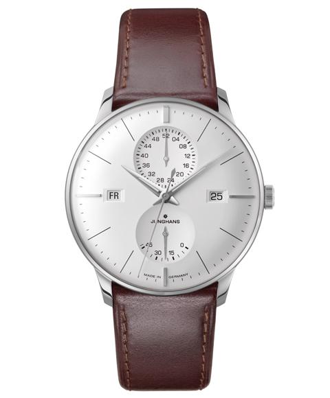 ユンハンス マイスター アジェンダ 027 4364 01 英語表示 腕時計 メンズ JUNGHANS Meister Agenda 027/4364.01 自動巻 ブラウン系