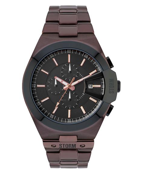 ストーム ロンドン VEXITRON 47248BR 腕時計 メンズ STORM LONDON ブラウン系