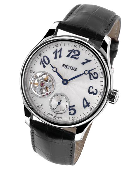 epos エポス 腕時計 3369SL 手巻き レザーストラップ