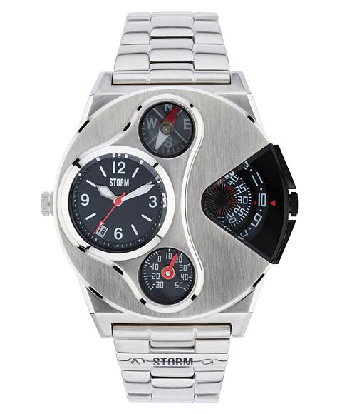 ストーム ロンドン V2 NAVIGATOR 47246BK 腕時計 メンズ STORM LONDON メタルブレス