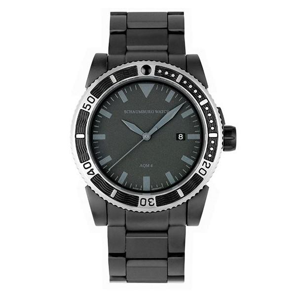 シャウボーグ ノウティックフィッシュ AQM4-BKM 自動巻き 腕時計 メンズ SCHAUMBURG NAUTICFISH