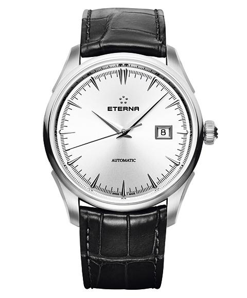 Outlet half Eterna 1948 legacy date 2951.41.10.1322 watch automatic winding men ETERNY LEGACY DATE