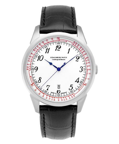 シャウボーグCERAMATIC-2 セラマティック 腕時計 メンズ SCHAUMBURG 自動巻 レザーストラップ