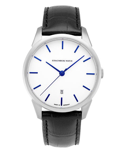 海外取寄せ シャウボーグ PURIST-1 ピュアリスト 腕時計 メンズ SCHAUMBURG 自動巻 レザーストラップ