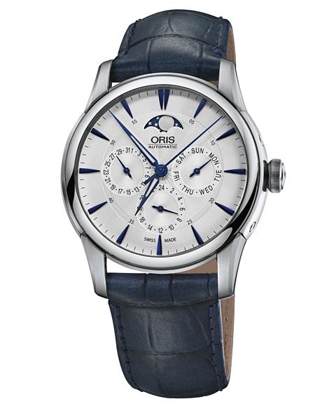 オリス アートリエ コンプリケーション 78177034031D 腕時計 メンズ ORIS Artelier Complication 781 7703 4031D レザーストラップ