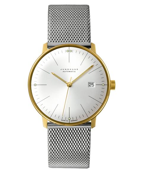 ユンハンス マックスビル 027 7700 00m 腕時計 メンズ JUNGHANS Max Bill 027/7700.00M 自動巻 ゴールド