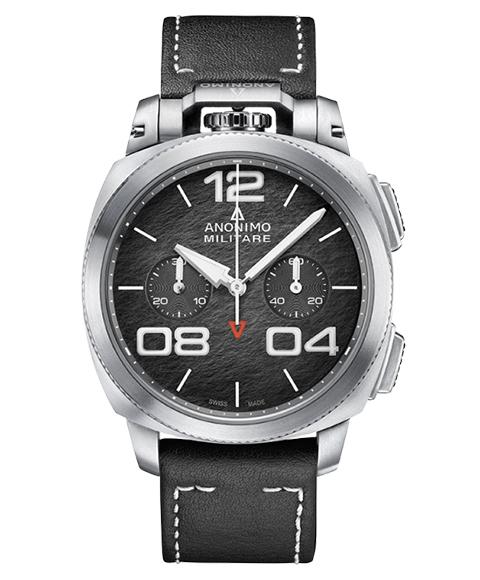 アウトレット 62%OFF! アノーニモ ミリターレクロノ 1120.01.001.A01 腕時計 メンズ ANONIMO MILITARECHRONO 自動巻 レザーストラップ