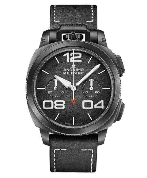 アウトレット 62%OFF! アノーニモ ミリターレクロノ 1120.02.001.A01 腕時計 メンズ ANONIMO MILITARECHRONO 自動巻 レザーストラップ