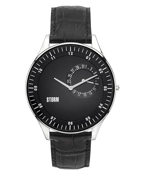 ストーム ロンドン 47300BK OBERON 腕時計 メンズ STORM LONDON レザーストラップ