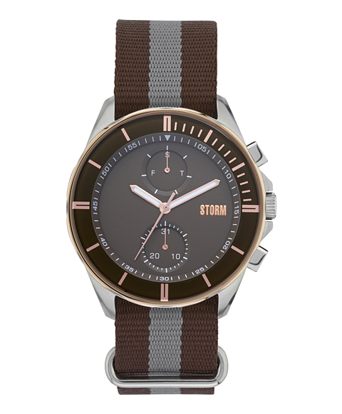 ストーム ロンドン 47301BR REXFORD 腕時計 メンズ STORM LONDON クロノグラフ ブラウン系