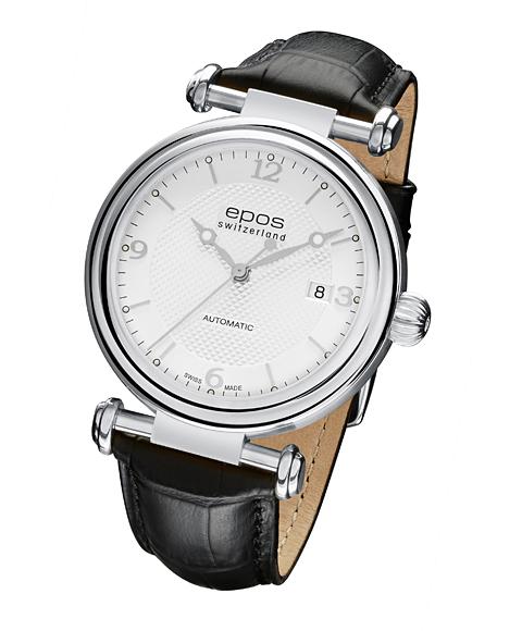エポス オリジナーレ デイト 3430SL 腕時計 メンズ 自動巻 epos レザーストラップ