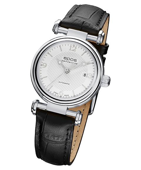 エポス オリジナーレ デイト レディース 4430SL 腕時計 自動巻 epos レザーストラップ