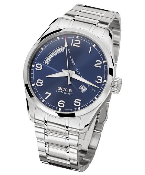 エポス パッション デイデイト 3402NBLM 腕時計 メンズ 自動巻 epos 自動巻 ブルー系