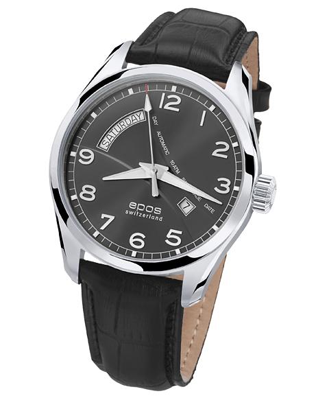 エポス パッション デイデイト 3402NGRY 腕時計 メンズ 自動巻 epos