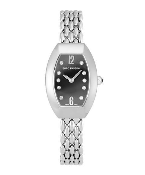 アウトレット 67%OFF! ユーロパッションウォッチ トノー・プレーン 925BA-M 腕時計 レディース EURO PASSION WATCH Tonneau Plain メタルブレス