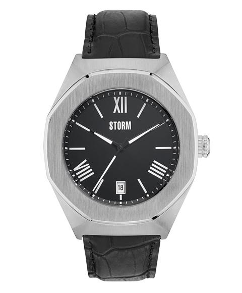 ストーム ロンドン 47305BK COBAIN 腕時計 メンズ STORM LONDON クロノグラフ レザーストラップ