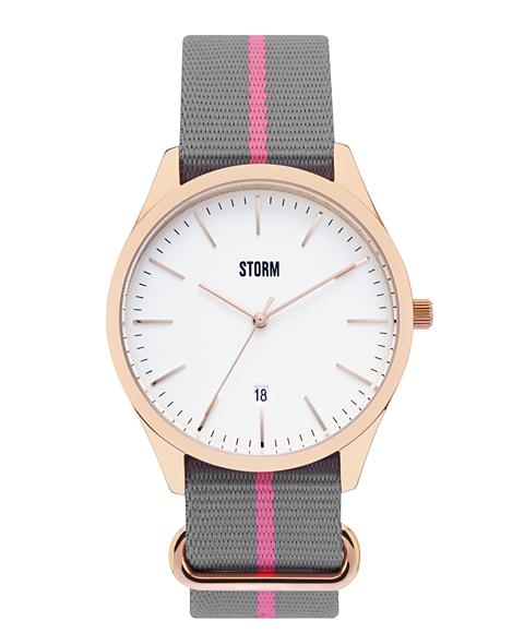 ストーム ロンドン 47299RGW MORLEY RG-WHITE 腕時計 レディース ユニセックス STORM LONDON ゴールド