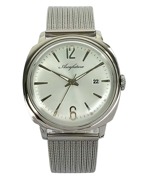 今ダケ送料無料 Outlet Sale アウトレット アルカフトゥーラ 3748SSM 大決算セール メタルブレス メンズ ARCAFUTURA 腕時計
