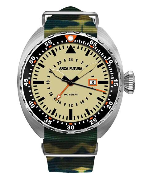 アウトレット アルカフトゥーラ 3750IV2 腕時計 メンズ ARCAFUTURA ダイバーズ クロノグラフ