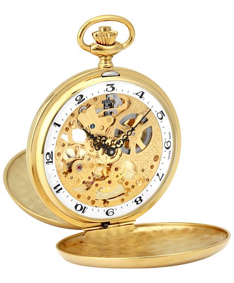 海外取寄せ(納期:約3~4ヵ月後) エポス ポケットウォッチ 2078YGWHA メンズ 懐中時計 epos スケルトン ゴールド 敬老の日 ギフト お祝い 還暦 喜寿 米寿